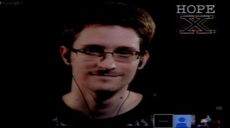 Snowden plans to work on anti-surveillance technology - ZDNet | Technological Sparks | Scoop.it