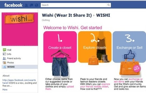 Wishi combines fashion with collaborative consumption | RER Group | Collaborative Consumption Resources | Scoop.it