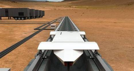 "Hyperloop Technologies will build 335 MPH 'open-air' test track in early 2016 | ""green business"" 