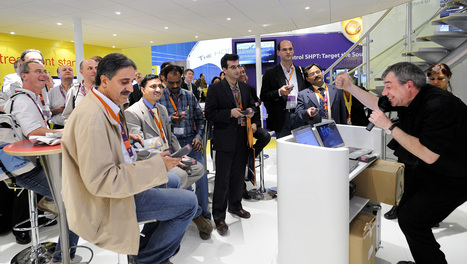 Using interactive technology on an exhibition stand | Exhibition Designers | Scoop.it