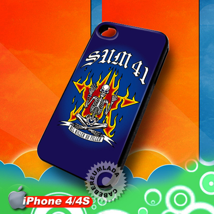 Sum 41 All Killer No Filler iPhone 4 4S Case for sale | Customizable Smart Phone Cases | Scoop.it