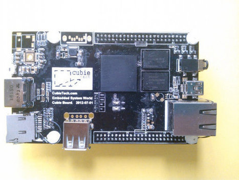$49 Cubieboard: AllWinner A10 Open Hardware Development Board | Raspberry Pi | Scoop.it