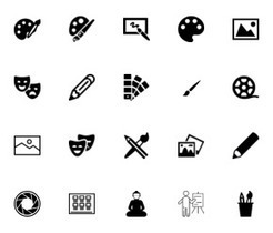 Free vector icons - SVG, PSD, PNG, EPS & Icon Font - Thousands of Free Icons | Teaching Art in the Digital Era | Scoop.it
