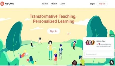 Kiddom, otro servicio en línea para ClassRoom - Nerdilandia | Utilidades TIC para el aula | Scoop.it
