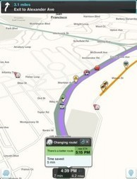 Waze Map and GPS App Review- Replace Apple Maps and TomTom on iPad | Top Free Web Services | Scoop.it