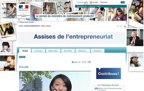 Assises de l'Entrepreneuriat : un vaste débat pour faciliter la création d'entreprises   ALSAGORA   Scoop.it