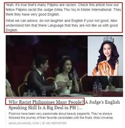 Dân mạng và truyền thông Philippines nói gì về clip Hoa hậu Thu Vũ nói tiếng Anh? | SEO, BUSINESS, TAG | Scoop.it