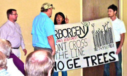 Protesters to Biotech Industry: If GE Trees Are Planted, Expect Resistance | EcoWatch | Scoop.it