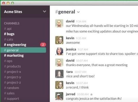 Slack : un outil complet pour communiquer en équipe | Colemi Social Media | Scoop.it