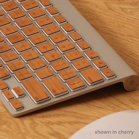 Skin Your Apple Keyboard in Wood » Yanko Design | L'Etablisienne, un atelier pour créer, fabriquer, rénover, personnaliser... | Scoop.it