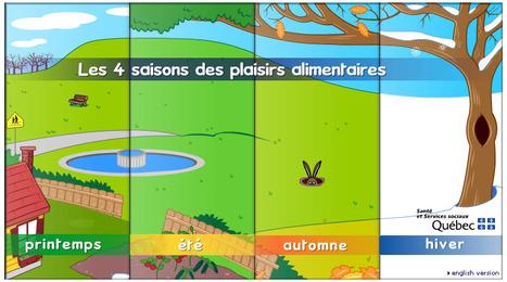 Les 4 saisons des plaisirs alimentaires | FLE enfants | Scoop.it