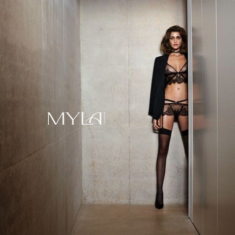Ana Beatriz Barros Stars in Myla London Lingerie S/S 2014 Campaign | TAFT: Trends And Fashion Timeline | Scoop.it