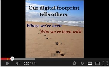 A Great Guide on Teaching Students about Digital Footprint | Secondary Education; 21st Century Technology and Social Media | Scoop.it