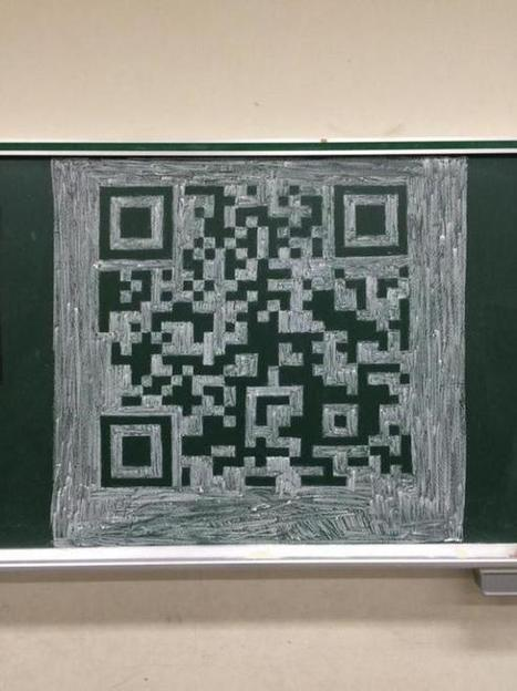 Japanese student draws functional QR code on school chalkboard, you'll never ... - RocketNews24 | QR Code & Education | Scoop.it