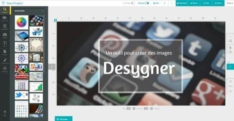 Desygner : créer des images optimisées pour les réseaux sociaux, les publicités, les emails... | -thécaires... | Avenir des Bibliothèques | Outils de Veille & de Curation | Scoop.it