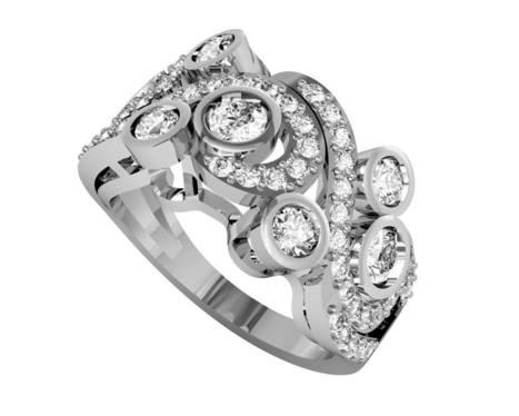 Buy Marissa Fancy Diamond Ring | Diamond Solitaire Ring | Scoop.it