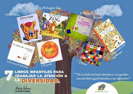 7 libros infantiles para trabajar la atención a la diversidad   Recursos educativos del ISFD 808   Scoop.it