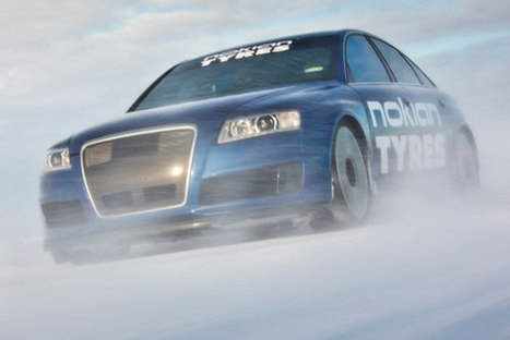 Nokian tyres-Watch this Audi RS6 go 208 mph... on ice | Tyre Safety | Scoop.it