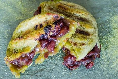 Grilled Matcha Mochi [Vegan, Gluten-Free] | My Vegan recipes | Scoop.it