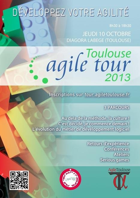 Agile Tour Toulouse : L'affiche et le programme en ligne | Méthodes Agiles | Scoop.it
