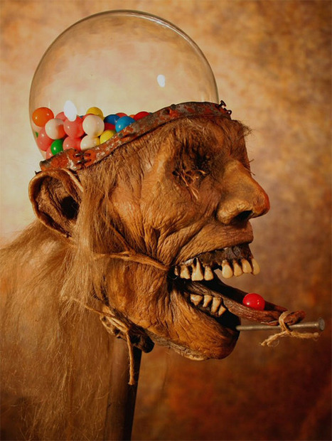 Zombie Head Gumball Machine Makes You Crave Brains | All Geeks | Scoop.it