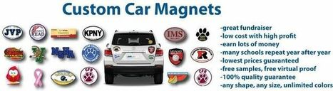 Custom Car Magnets | Custom Car Bumpers Magnets, Decals & Stickers | Scoop.it