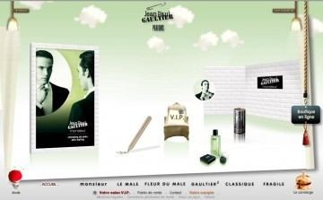 Jean-Paul Gaultier Parfums s'offre une campagne européenne sur mobile | CRM in luxury industry | Scoop.it