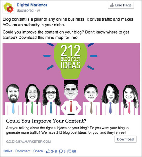 How To Design Facebook Ad Images Like a Pro | traffic to you and me | Scoop.it