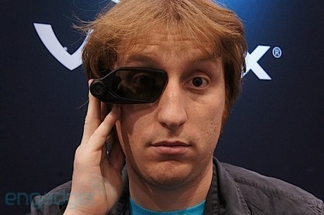 Vuzix augmented reality Smart Glasses prototype hands-on (video) | Augmented Reality in Education and Training | Scoop.it