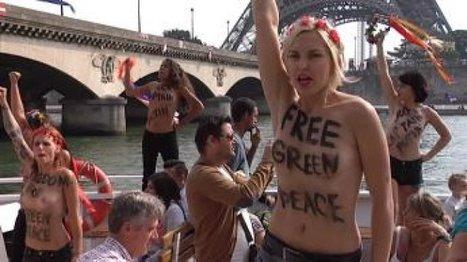 Les Femen : des amazones aux actions radicales - FRANCE 24 | Femen | Scoop.it