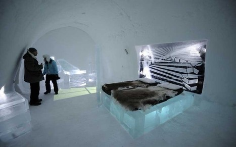 The ice hotel that needs a fire alarm | Strange days indeed... | Scoop.it