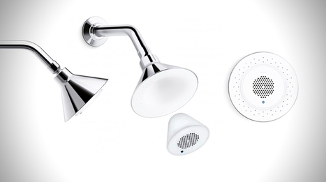 Kohler Moxie Wireless Speaker Showerhead | Gadgets I lust for | Scoop.it