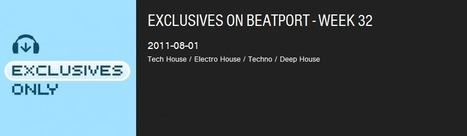 Exclusives On @beatport - Week 32 | #Music | Scoop.it