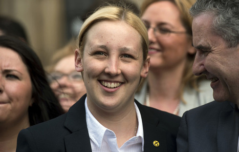 Mhairi Black goes viral: how Britain's youngest MP became a political star | Language at Work | Scoop.it