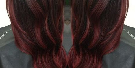 ​Haartrend voor brunettes: Cherry Bombré | kapsel trends | Scoop.it