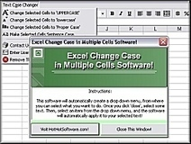 How to Change Case in Multiple Excel Cells | Software applications to make things more convenient | Scoop.it