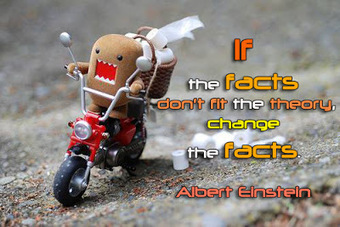 funny quotes (If the facts don't fit the theory, change the facts) | FULL HD (High Definition) Wallpapers, Pictures For Desktop Backgrounds & Facebook Timeline Cover | Quotes photos For Facebook | Scoop.it