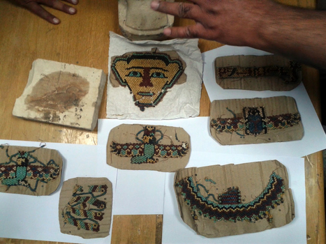 An attempt to smuggle antiquities inside a copy of Tut Ankh Amon's mask   Egyptology and Archaeology   Scoop.it