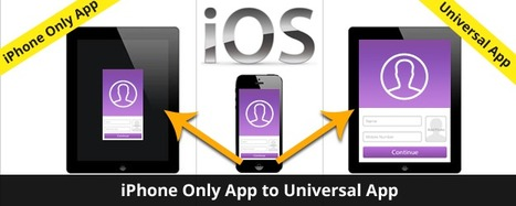 Convert iPhone application to Universal application | InnovationM Blog | iOS and Android Development | Scoop.it