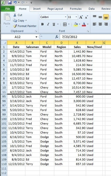 PivotTables - Yikes!   Data Management, Data Quality   Scoop.it