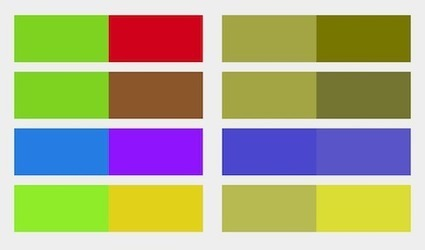 Improving UX For Color-Blind Users – Smashing Magazine | Veille perso | Scoop.it