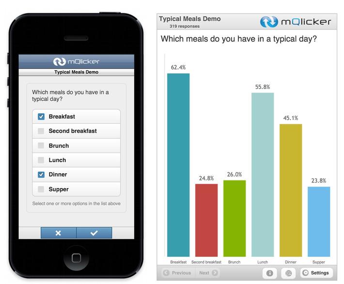 mQlicker: un outil pour créer des QCM interactifs pour les mobiles | IFETH 83 | Scoop.it