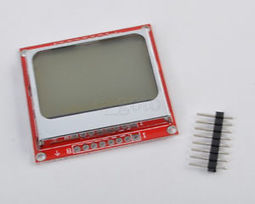 84X48 Nokia 5110 LCD Display Module blue backlight with PCB adapter for Arduino | Raspberry Pi | Scoop.it