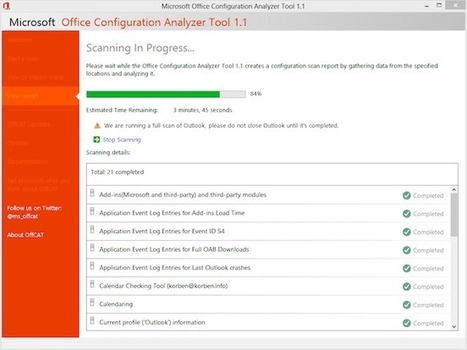 Réparez votre Office 365 avec OffCat | Time to Learn | Scoop.it