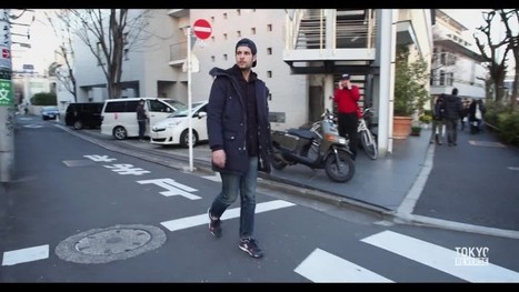 Guy walks around Tokyo backward, this is what the footage looks like played in reverse   On the road   Scoop.it