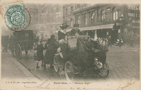 Panne sèche. | Paris-1900 | Ca m'interpelle... | Scoop.it