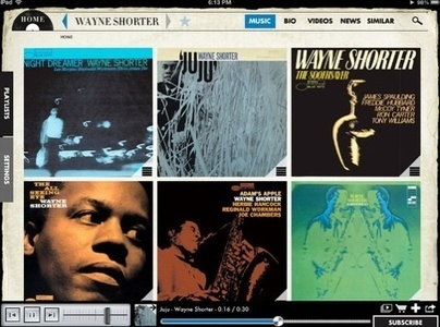 Blue Note Records App for iPad Breaks New Ground With OpenEMI Initiative | MUSIC:ENTER | Scoop.it