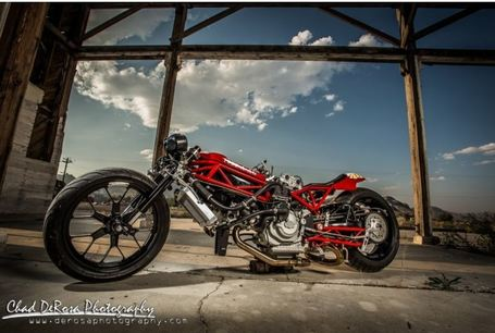 For Sale | Bonneville Salt Flats World Record Holding Ducati The Da Vinci Racer | eBay | Ductalk | Scoop.it