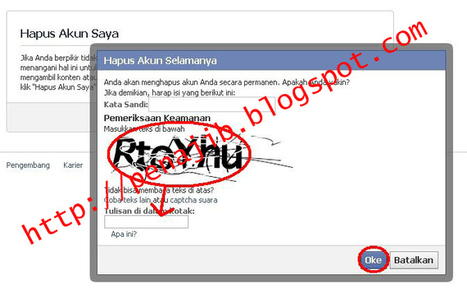 Tutorial Menonaktifkan/Menghapus Akun Facebook Secara Permanen | World Pen | Scoop.it