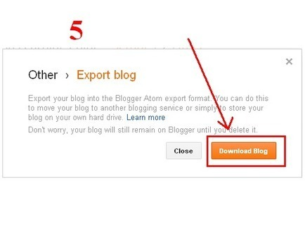 How to Make Backup of your Blogger Blog Posts « Latest Tricks and Tips | Techrainy | Scoop.it
